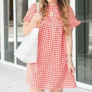 ❤️ Gingham Babydoll dress